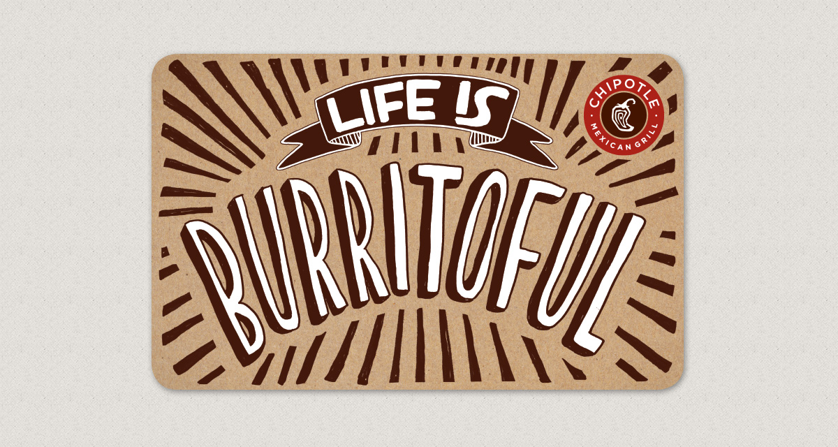 Chipotle — Gift Cards: Buy and Send E-Gift Cards