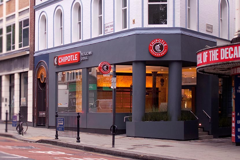 Chipotle Charing Cross