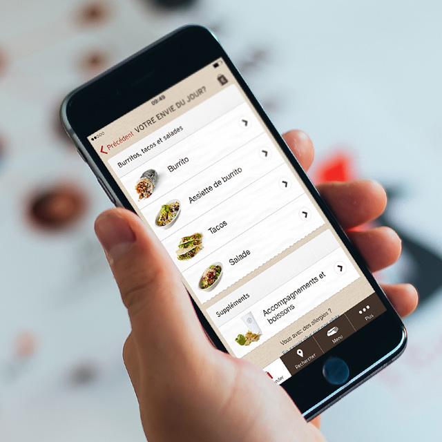 Ordering Mobile App