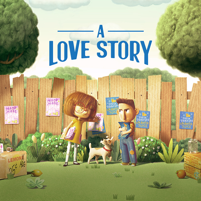 Art for Chipotle's A Love Story video
