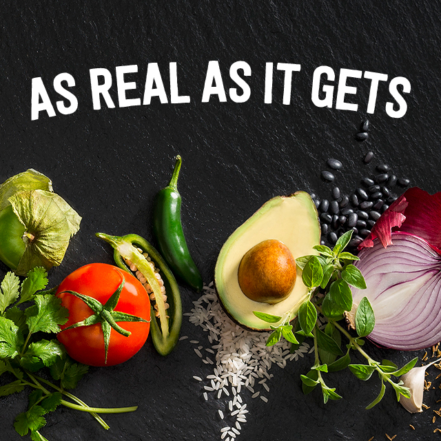 photo of chipotle's real ingredients campaign