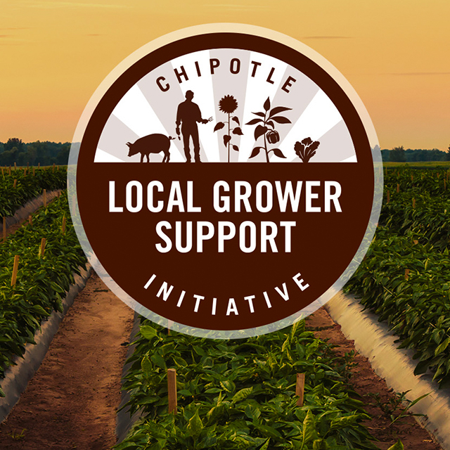 graphic of chipotle's local grower support initiative