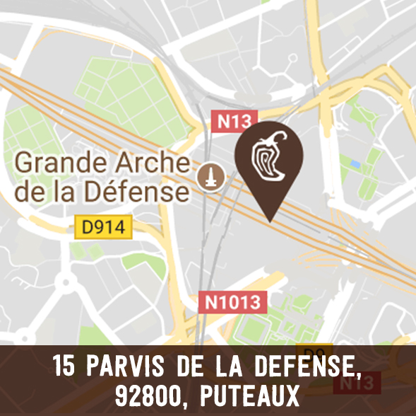 photo of la defense chipotle france location